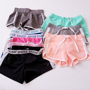 Justice Active Shorts Bundle 9 pcs